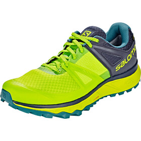 Salomon Trailster GTX Shoes Herren acid lime/graphite/hydro.